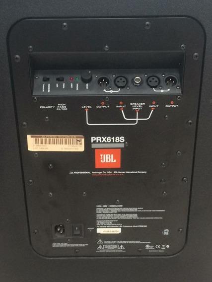 Sub Jbl Prx618s