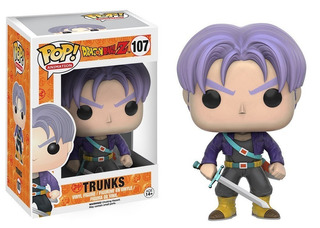 Funko Pop Trunks #107 - Dragon Ball Z. Ramos Mejia