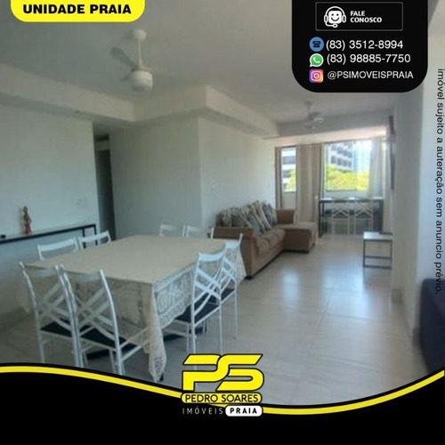 Apartamento Com 3 Dormitórios À Venda, 145 M² Por R$ 550.000 - Jardim Oceania - João Pessoa/pb - Ap4643