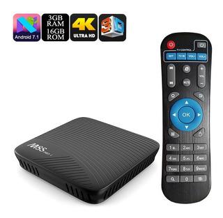 Caja Android Para Tv Mecool M8s Pro L - Cpu Octa Core, 3gb D