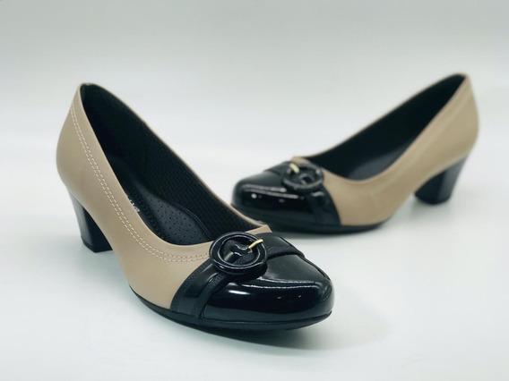 Sapato Feminino Piccadilly Salto Baixo 111088-3