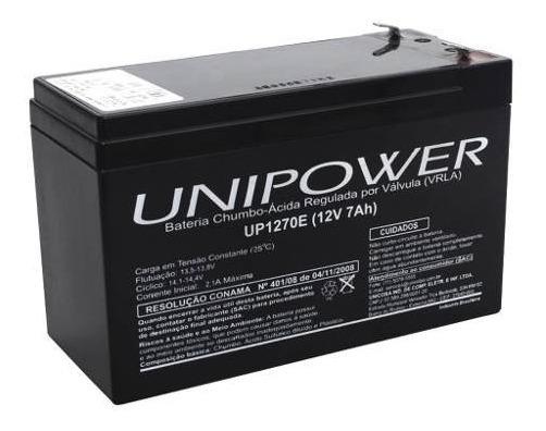 Bateria Nobreak Apc, Sms, Nhs - Unipower 12v 7.0a - Up1270e