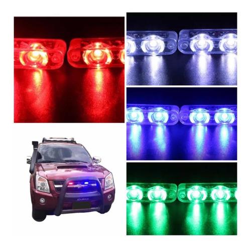 Luces Federales Vehiculo  Led Accesorio Policia Led Lujo Car