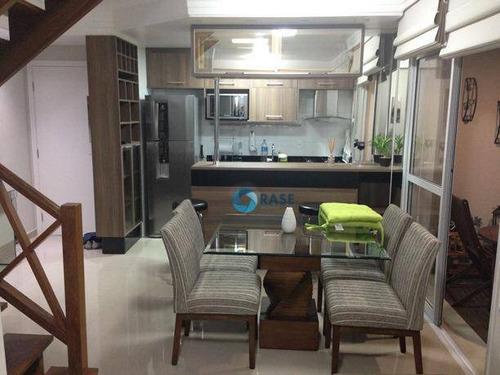 Imagem 1 de 19 de Apartamento Duplex À Venda, 75 M² Por R$ 1.090.000,00 - Granja Julieta - São Paulo/sp - Ad0047