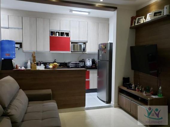 Apartamento Para Venda Em Mogi Das Cruzes, Vila Suíssa, 2 Dormitórios, 1 Banheiro, 1 Vaga - Ap0204_2-975685