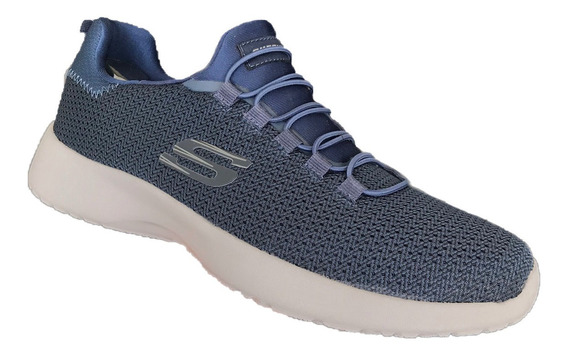 Tenis Skechers Hombre 58360/nvy Dinamight Marino Memory Foam