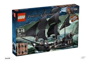 Lego Original Set 4184 Piratas Del Caribe Perla Negra