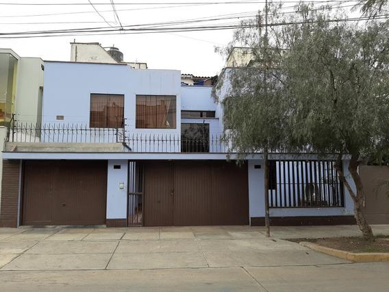 ¡alquiler Casa Amoblada En San Borja A 1 Cuadra De Aviación!
