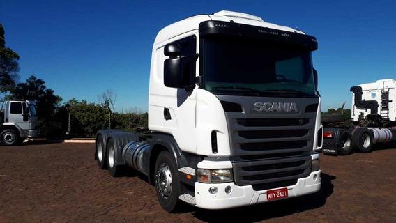 Scania G420 6x4 2011/2011 Único Dono
