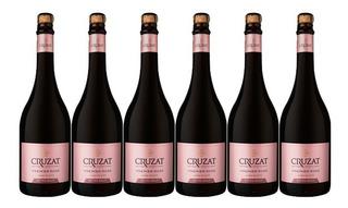 Champagne Cruzat Premier Rose X750cc Caja X6 + Regalo