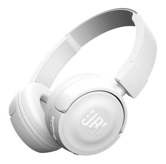 Fone De Ouvido Jbl T450 On Ear Original Branco Novo