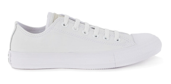 Tenis Converse All Star Monochrome Leather Ox Bco