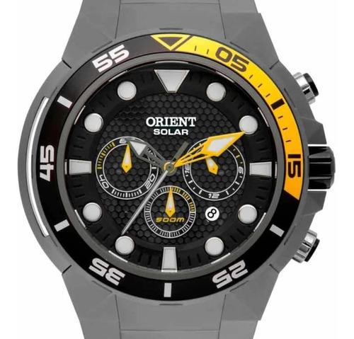 Relógio Orient Seatech Solar Titânio Mbttc014 P1gx - Oficial