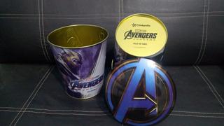 Cubeta Metalica Avengers Endgame Cinepolis