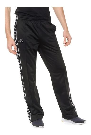 Pantalon Kappa Authentic Astoria Snaps Negro