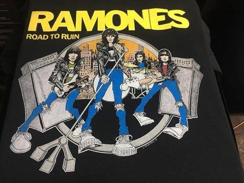 Imagen 1 de 3 de Ramones - Road To Ruin - Hardcore Punk / Rock - Polera- Cyco