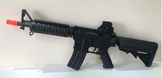 Airsoft Rifle Eletrico Evo M4 Cqb Carbine 6mm Aeg