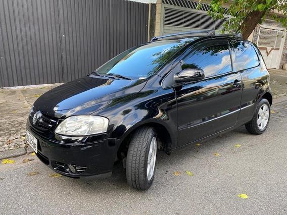 Volkswagen Fox 1.0 Preto Completo-ar - 2007