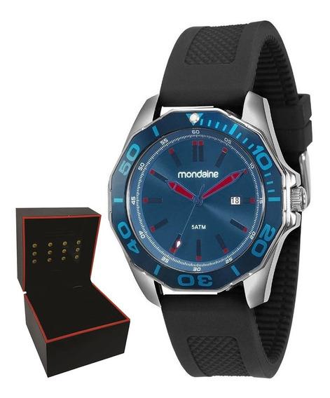 Relógio Mondaine Masculino Original Garantia Nf 83360g0mvnu2