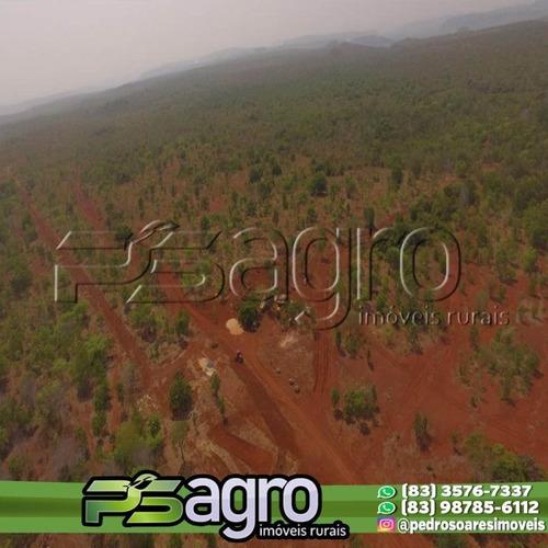 Imagem 1 de 7 de Fazenda À Venda, 77000000 M² Por R$ 55.720.000,00 - Centro - Babaçulândia/to - Fa0276