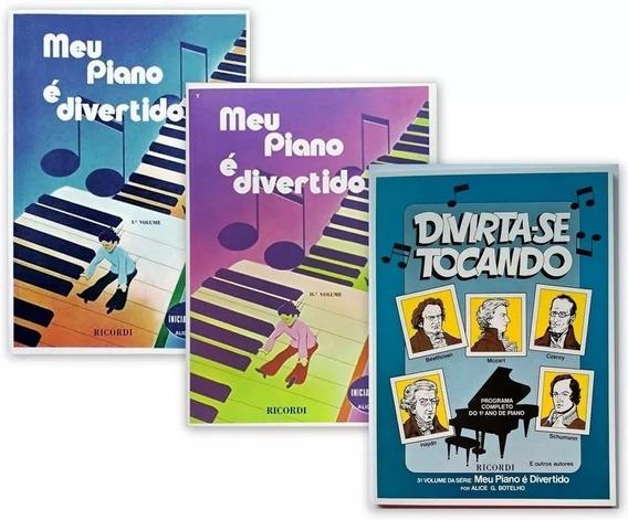 Meu Piano Divertido Com Os Vol 1,2,3, Alice G. Botelo