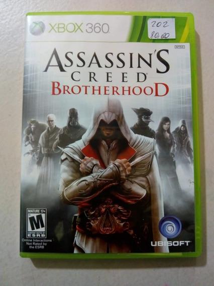 Assassins Creed Brotherhood Xbox 360 E Xbox One Mídia Física