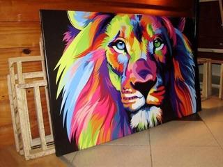 Cuadro Chico 55 X 40cm Impreso En Tela Artística Canvas