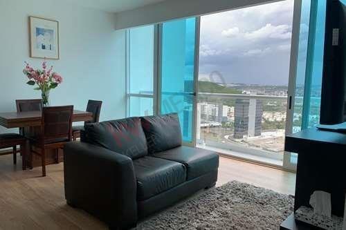 Departamento En Renta Santa Fe Juriquilla Towers Queretaro Amueblado 2 Habitaciones