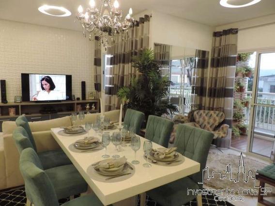 Apartamento Para Venda Em Mogi Das Cruzes, Mogi Moderno, 3 Dormitórios, 1 Suíte, 2 Banheiros, 2 Vagas - 1919mogim_1-1521664