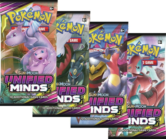 Pokémon Unified Minds Booster Pack