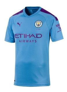 Camisa Manchester City 19/20 Nova Torcedor Pronta Entrega