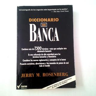 Diccionario De Banca Inglés/español 7,500 Términos
