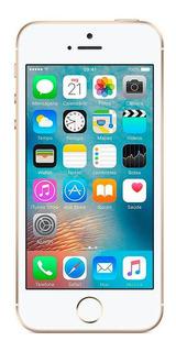 iPhone Se 64gb Usado Seminovo Dourado Bom C/nf E Garantia