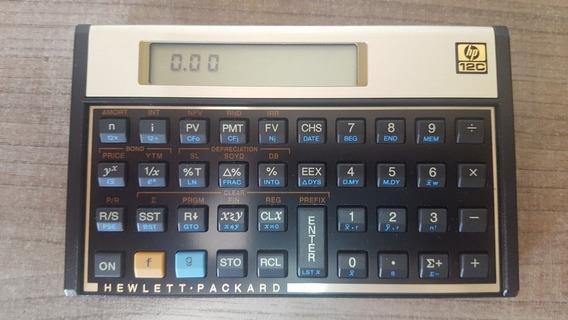 Calculadora Hp 12c Financeira - Hewlett Packard