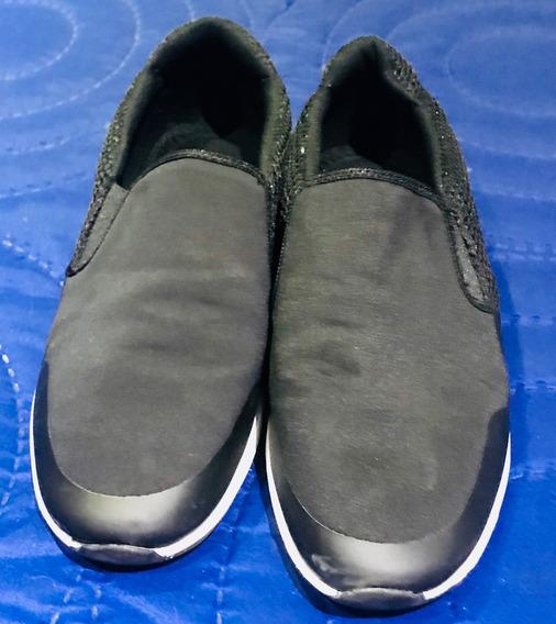 Zapatillas Panchas De Elastico Zara
