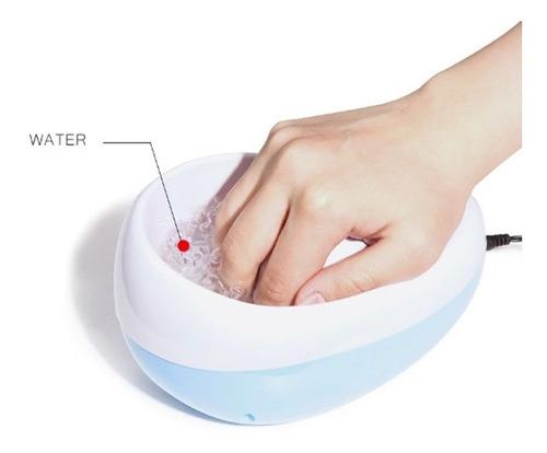 Máquina Manicura Suaviza Cutículas Burbujas Spa + Obsequio