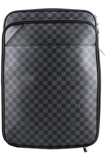 Mala De Viagem Pegase 55 Damier Graphite Louis Vuitton Couro Legítimo Premium Top Com Código Série Acompanha Dust Bag