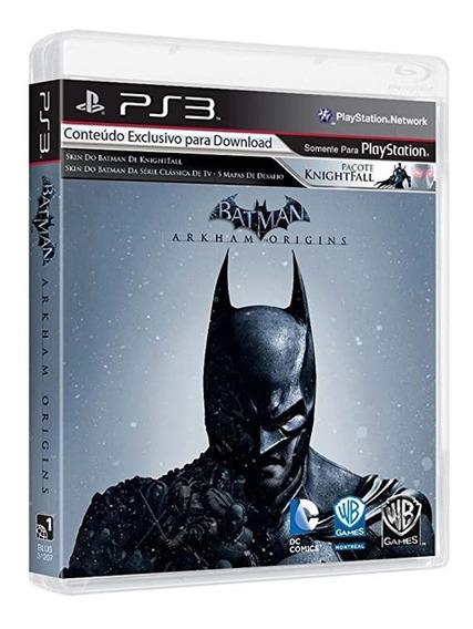 Batman Arkham Origins - Ps3 - Usado - Original