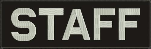Parche Nombres Bordado Personalizado Letras, Grande 28x8cm