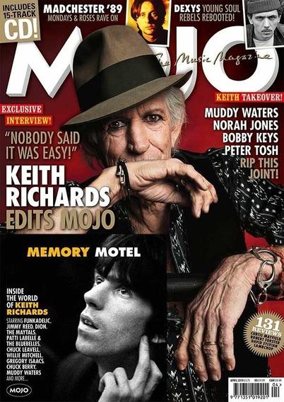 Mojo Revista Britânica - Keith Richards Edits Mojo