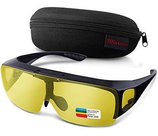 Tinhao - Gafas De Sol De Visión Nocturna Con Lente Abatible