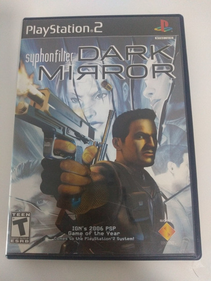 Jogo Syphon Filter Dark Mirror Playstation 2 Ps2 Ntsc