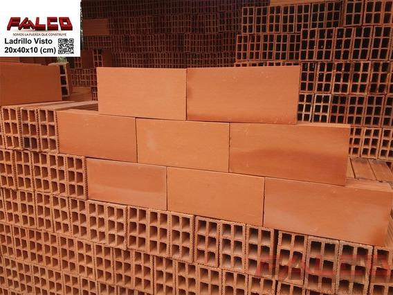 Ladrillo Visto 10x20x40cm - Fabrica De Ladrillos Falco