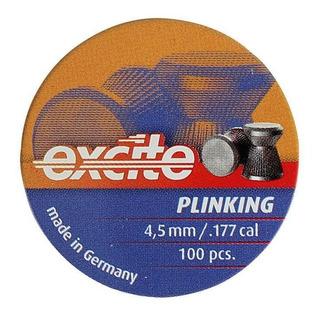 Chumbinho Carabina Pressão H&n Excite Plinking 4.5mm 100un