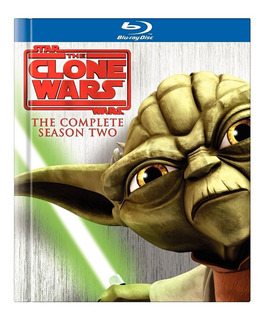 Star Wars The Clone Wars Temporada 2 Blu Ray Nuevo