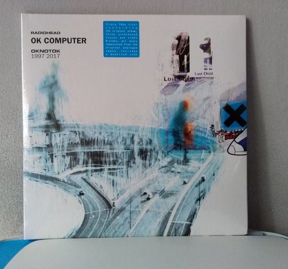 Radiohead Oknotok Preto ,3 Discos Pronta Entrega