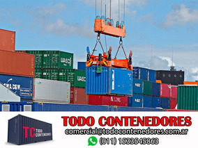 Contenedores Maritimos Containers Obrador 20 Usado Rio Negro