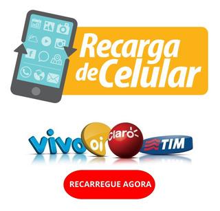 Recarga Celular R$ 15,00 Todas As Operadoras Online