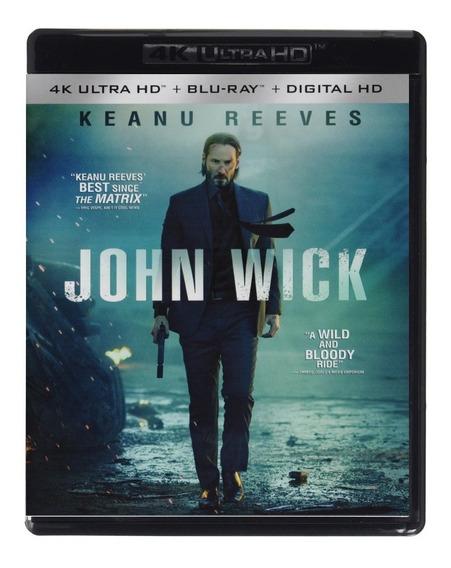 John Wick Otro Dia Para Matar Pelicula 4k Ultra Hd + Blu-ray