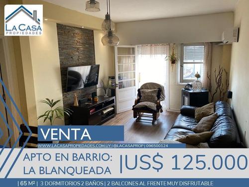 Apartamento 3 Dormitorios 2 Baños  - La Blanqueada